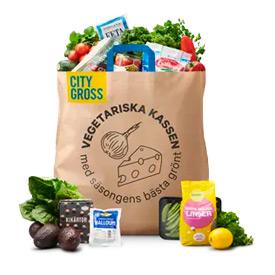 Vegetariska kassen från City Gross