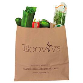 Ekologisk vegetarisk gluten- och laktosfri matkasse från Ecoviva